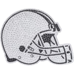 Cleveland Browns Historic Logo Bling Emblem Car Decal