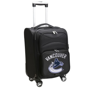 """Vancouver Canucks 21"""" Spinner Carry-On - Black"""