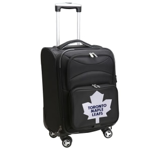 """Toronto Maple Leafs 21"""" Spinner Carry-On - Black"""