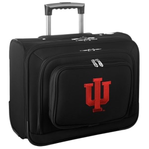 "Indiana Hoosiers 14"" 2-Wheeled Laptop Overnighter Travel Case - Black"