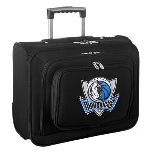 Dallas Mavericks Carry-On Rolling Laptop Bag - Black