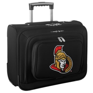 "Ottawa Senators 14"" 2-Wheeled Laptop Overnighter Travel Case - Black"