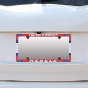 Ole Miss Rebels WinCraft Plastic License Plate Frame
