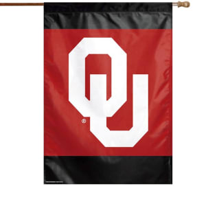 "Oklahoma Sooners WinCraft 28"" x 40"" Double-Sided Banner Flag"