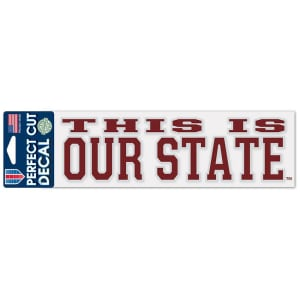 Mississippi State Bulldogs WinCraft Perfect Cut Decal