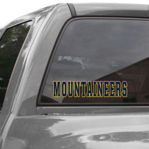 West Virginia Mountaineers WinCraft Mascot Perfect Cut Decal