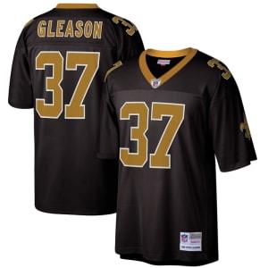 Steve Gleason New Orleans Saints Mitchell & Ness Retired Player Legacy Replica Jersey - Black