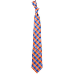 New York Islanders Woven Poly Check Tie