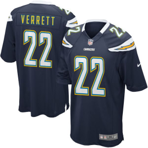 Jason Verrett Los Angeles Chargers Nike Game Jersey - Navy Blue