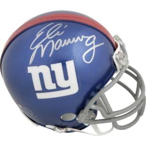 Eli Manning New York Giants Fanatics Authentic Autographed Riddell Mini Helmet Do not use