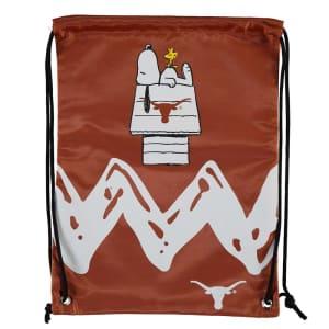 Texas Longhorns Peanuts Zigzag Drawstring Backpack