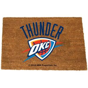 Oklahoma City Thunder Logo Coir Doormat