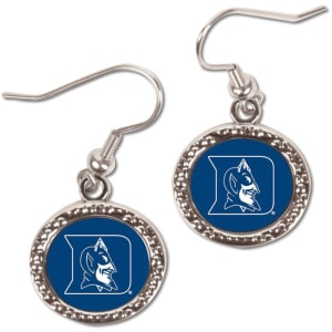 Duke Blue Devils WinCraft Women's Round Dangle Earrings