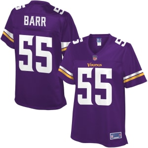 Anthony Barr Minnesota Vikings NFL Pro Line Women's Team Color Jersey - Purple