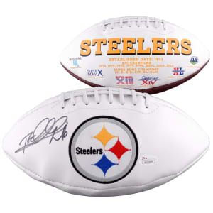 Rod Woodson Pittsburgh Steelers Fanatics Authentic Autographed Logo Football