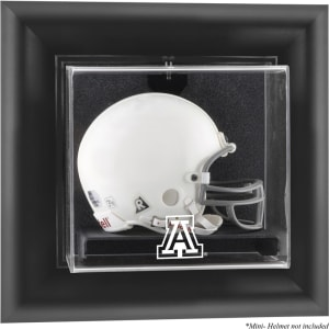 Arizona Wildcats Fanatics Authentic Black Framed Wall-Mountable Mini Helmet Display Case