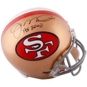 "Joe Montana San Francisco 49ers Fanatics Authentic Autographed Throwback Replica Helmet with ""HOF 2000"" Inscription"