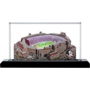 "Florida State Seminoles 9"" x 4"" Light Up Stadium with Display Case"
