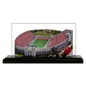 "Indiana Hoosiers 19"" x 9"" Light Up Stadium with Display Case"