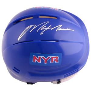 Mark Messier New York Rangers Steiner Sports Autographed Blue Mini Helmet