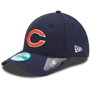 Chicago Bears New Era The League 9FORTY Adjustable Hat - Navy