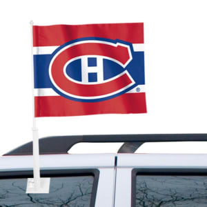 """Montreal Canadiens WinCraft 11"""" x 13"""" Two-Sided Car Flag"""