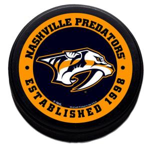Nashville Predators WinCraft Printed Hockey Puck