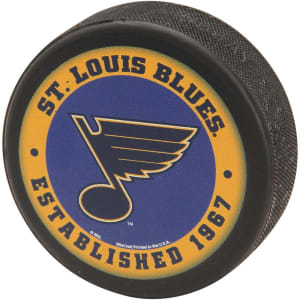 St. Louis Blues WinCraft Printed Hockey Puck -
