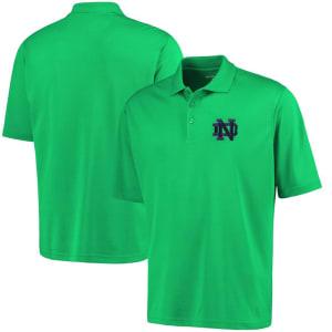 Notre Dame Fighting Irish Antigua Logo Grande Pique Polo - Green