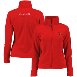 Louisville Cardinals Columbia Women's Give & Go Full-Zip Jacket - Red