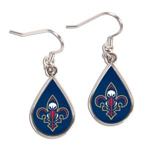New Orleans Pelicans WinCraft Tear Drop Dangle Earrings