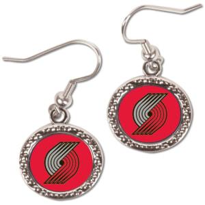 Portland Trail Blazers WinCraft Women's Round Dangle Earrings