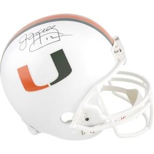 Jim Kelly Miami Hurricanes Fanatics Authentic Autographed Riddell Replica Helmet