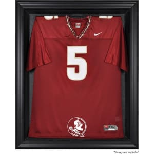 Florida State Seminoles Fanatics Authentic Black Framed (2014 - Present Logo) Jersey Display Case