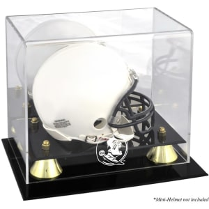 Florida State Seminoles Fanatics Authentic Golden Classic (2014 - Present Logo) Mini Helmet Display Case