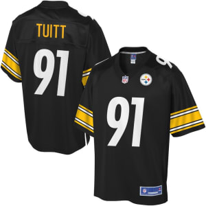 NFL Pro Line Mens Pittsburgh Steelers Stephon Tuitt Team Color Jersey