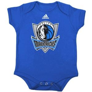 Dallas Mavericks adidas Infant Primary Logo Bodysuit - Royal