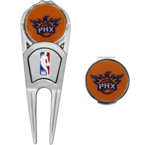 Phoenix Suns WinCraft Divot Tool, Ball Marker & Hat Clip Combo Gift Set