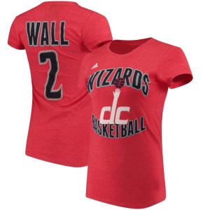 John Wall Washington Wizards adidas Women's Name and Number T-Shirt - Red