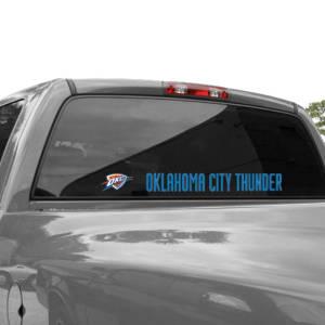 "Oklahoma City Thunder WinCraft 2"" x 17"" Perfect-Cut Decal"