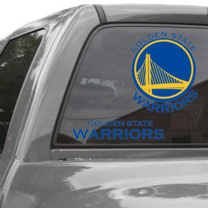 "Golden State Warriors Wincraft 11"" x 17"" Reusable Window Clings 2 Pack"