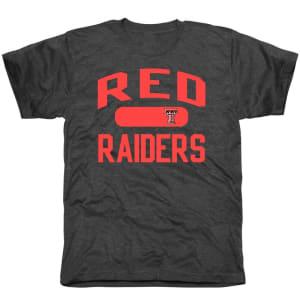 Texas Tech Red Raiders Athletic Issued Tri-Blend T-Shirt - Black