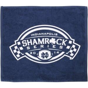 Notre Dame Fighting Irish Shamrock Series Rally Towel