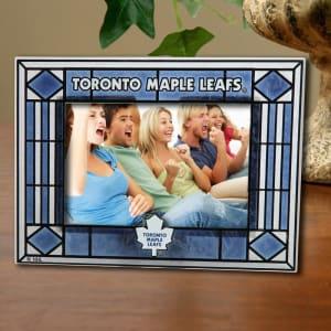 Toronto Maple Leafs New Art Glass Horizontal Frame