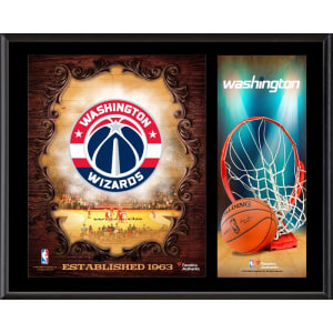 "Washington Wizards Fanatics Authentic 12"" x 15"" Sublimated Team Logo Plaque"