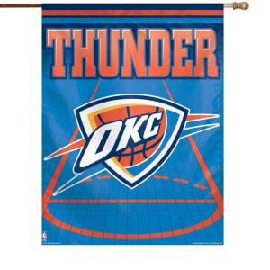 "Oklahoma City Thunder WinCraft 27"" x 37"" Vertical Banner"