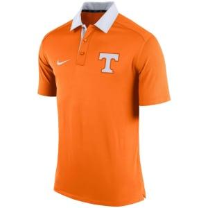 Tennessee Volunteers Nike Coaches Sideline Dri-FIT Polo - Tenn Orange