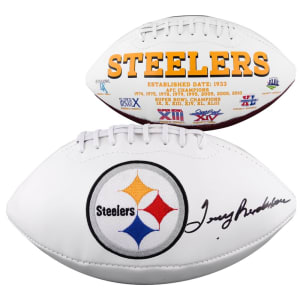 Terry Bradshaw Pittsburgh Steelers Fanatics Authentic Autographed White Panel