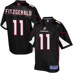 Larry Fitzgerald Arizona Cardinals NFL Pro Line Alternate Jersey - Black
