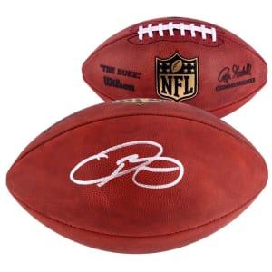 Odell Beckham Jr. Cleveland Browns Fanatics Authentic Autographed Duke Pro Football